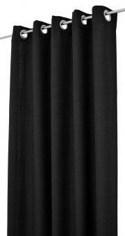 Arvidssons Textil Spektra 2st öljettlängder 140x240cm svart