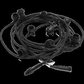 Ljusslinga Extra Connecta B22 svart 7,35m Star Trading