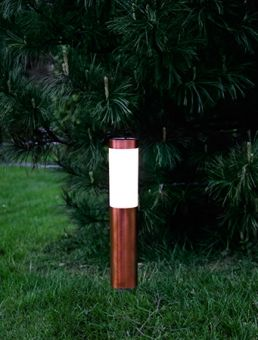 Cordoba Solcellslampa pollare 2-pack Trädgårdsbelysning