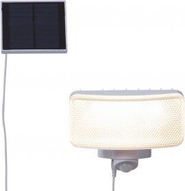 Väggspotlight Solcell Powerspot vit 16cm Star Trading