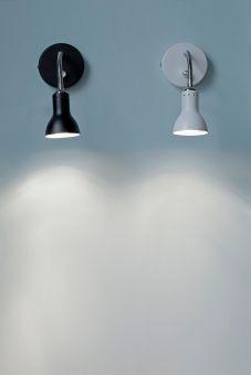 Mikado sänglampa dimmer svart Halo Design