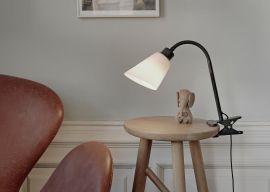 Rockford sänglampa/klämspot svart/vit Halo Design