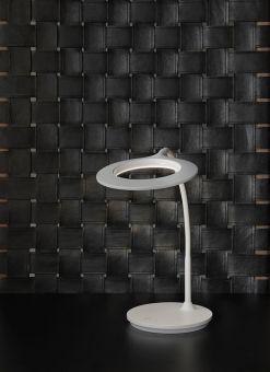 Circle bordslampa vit LED Halo Design