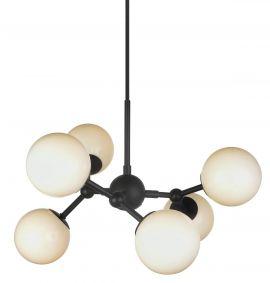 Halo Design Atom Taklampa svart/vit 45cm