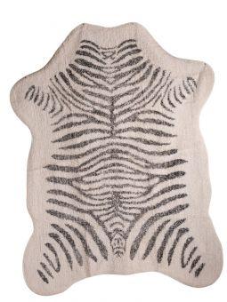 Mogihome Matta Zebra creme/svart 140x200cm