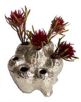 Mogihome Palette Vas Multi silver 14x16cm