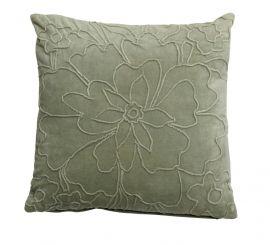 Mogihome Kuddfodral Floro grön 45x45cm