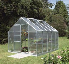 Växthus Vitavia Merkur alu/poly 3,2x2,6m / 8,3m²
