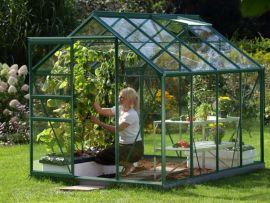 Växthus Vitavia Venus grön/glas 1,9x2,6m / 5m²