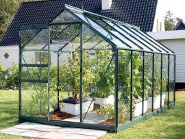 Växthus Vitavia Venus grön/glas 1,9x3,8m / 7,5m²
