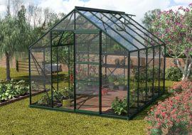 Växthus Vitavia Merkur grön/glas 3,2x2,6m / 8,3m²