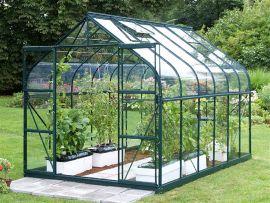 Växthus Vitavia Diana grön/glas 2,6x4,5m / 11,5m²