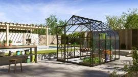 Växthus Vitavia Diana svart/glas 2,6x3,2m / 8,3m²
