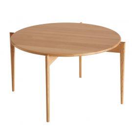 Oscarssons Möbel Tilia soffbord runt 88cm h48 oljad ek