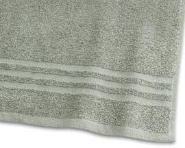 Handduk Basic Frotté 2-pack grön 30x50cm