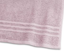 Handduk Basic Frotté 2-pack rosa 50x70cm
