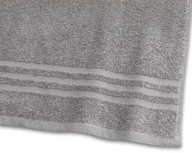 Handduk Basic Frotté 2-pack grå 50x70cm