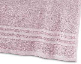 Handduk Basic Frotté rosa 65x130cm