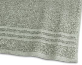 Handduk Basic Frotté grön 65x130cm