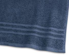 Handduk Basic Frotté marinblå 65x130cm