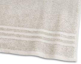 Handduk Basic Frotté sand 65x130cm