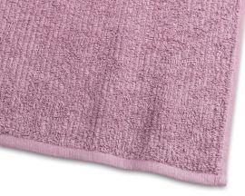 Handduk Stripe Frotté rosa 65x130cm