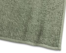 Handduk Stripe Frotté grön 65x130cm