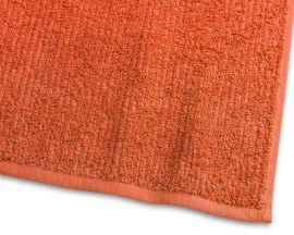 Handduk Stripe Frotté orange 65x130cm
