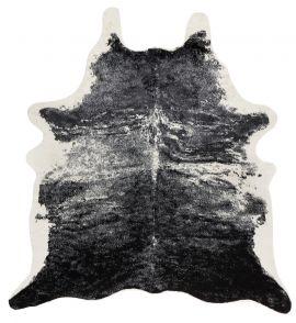 Kohud fake Vilgot exotic svart/vit 150x200cm Skinnwille