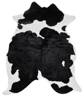 Kohud fake Wille svart/vit 150x200cm Skinnwille