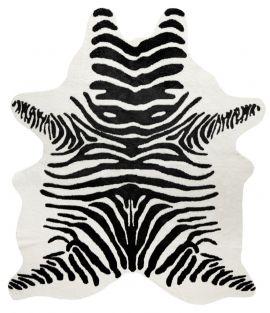 Kohud fake Victor zebra svart/vit 150x200cm Skinnwille