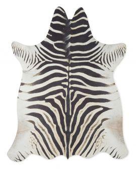 Kohud fake Zeb zebra svart/vit 155x200cm
