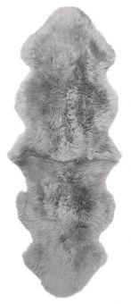 Gently långhårigt Fårskinn 2-set ljusgrå 180cm Skinnwille
