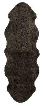 Skinnwille korthårigt fårskinn Curly bun 180cm