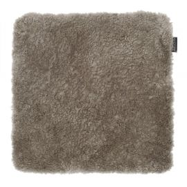 Skinnwille fårskinnssits Curly sahara 40x40cm