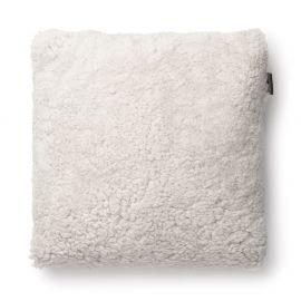 SkinnWille Kuddfodral fårskinn Curly beige/moonlight 45x45cm