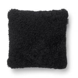 SkinnWille Kuddfodral fårskinn Curly svart 45x45cm