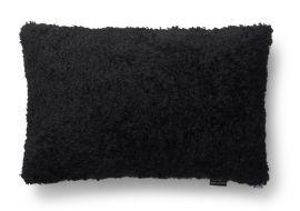 SkinnWille Kuddfodral fårskinn Curly svart 40x60cm
