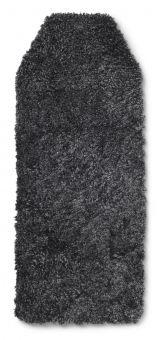 Barnvagnsdyna lammskinn dark/grå 75cm