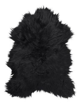 SkinnWille Skinnwille isländskt fårskinnsfäll Molly svart/brun 90cm
