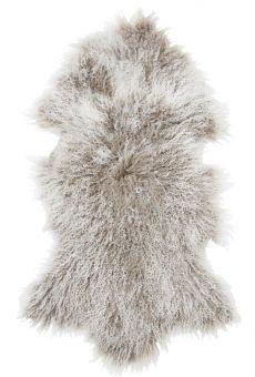 Shansi Lammskinn beige 95cm Skinnwille