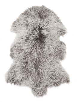 Shansi Lammskinn grå 95cm Skinnwille