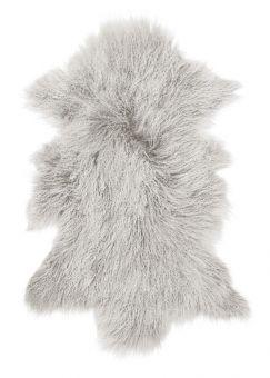 Shansi Lammskinn ljusgrå 95cm Skinnwille