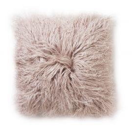 SkinnWille Kuddfodral lammskinn Shansi rosa 40x40cm