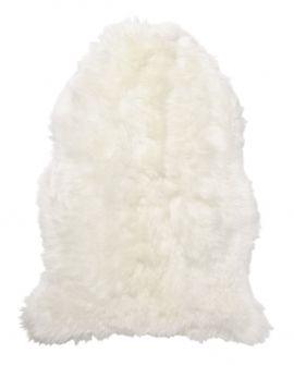 SkinnWille Lammskinnsfäll Baby extra mjuk vit 70cm, ullängd 40mm