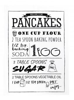 Handduk Pancake 50x70cm