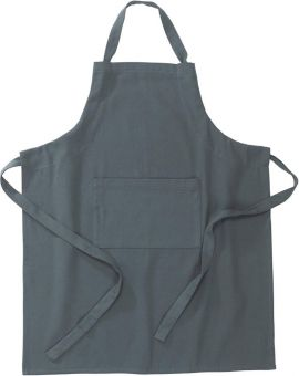 Alba Förkläde grå 72x90cm