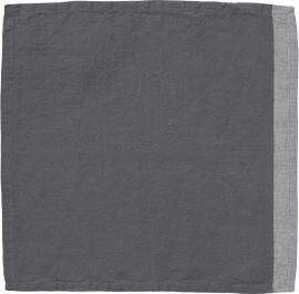 Amy Servett grå 45x45cm