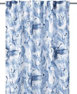Carro Gardin 2P blå 2x140x280cm
