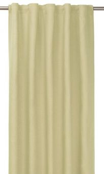 Tuva Gardin 1p gul 140x280 cm